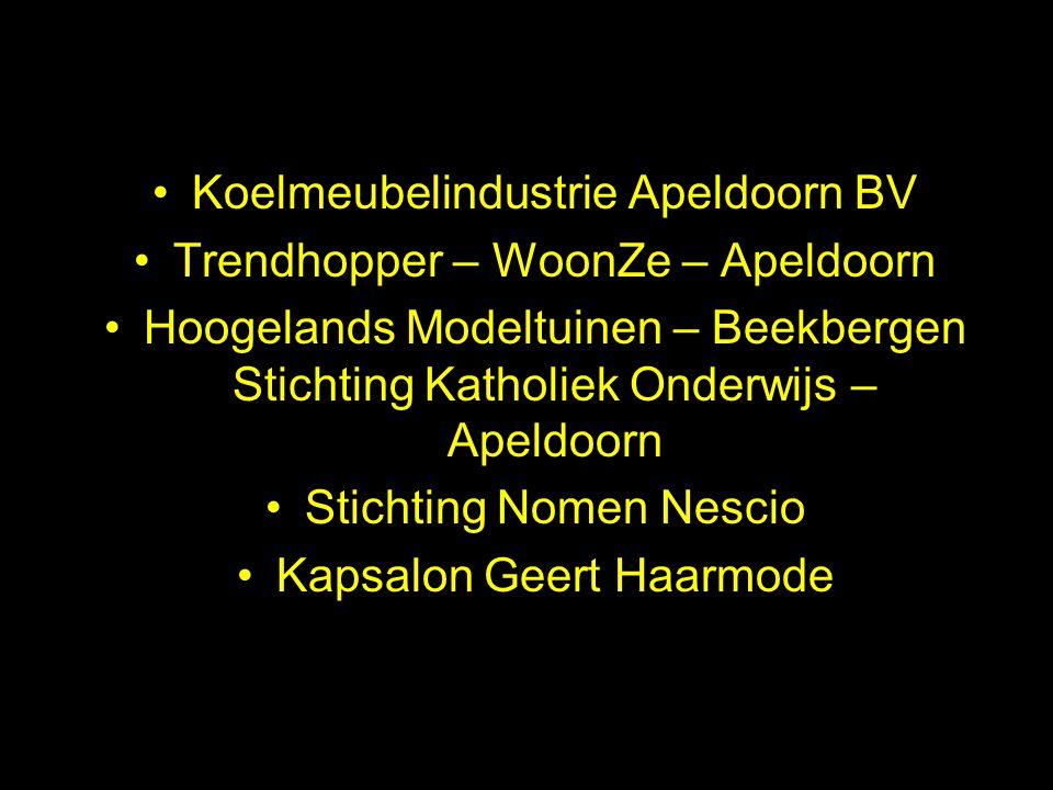Koelmeubelindustrie Apeldoorn BV Trendhopper – WoonZe – Apeldoorn