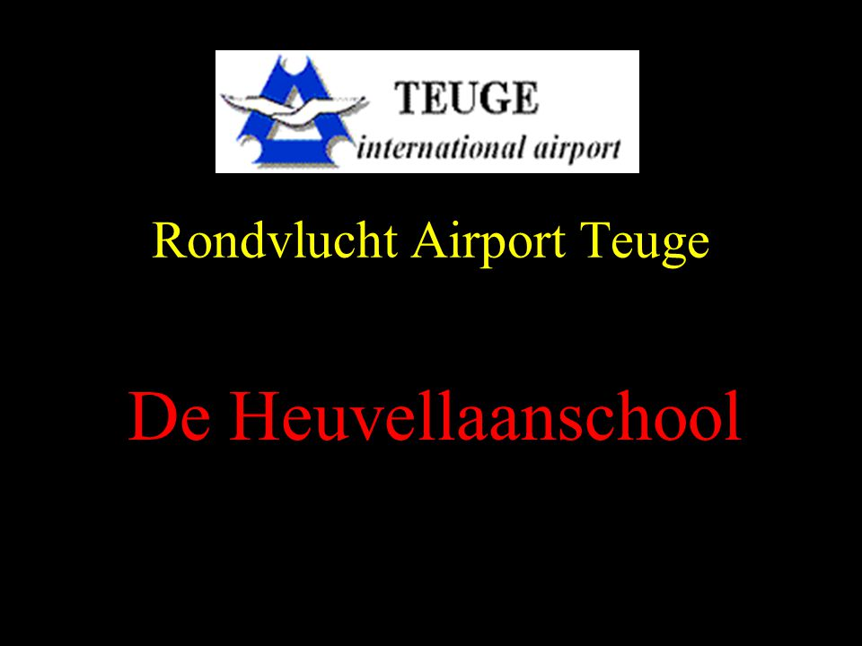 Rondvlucht Airport Teuge