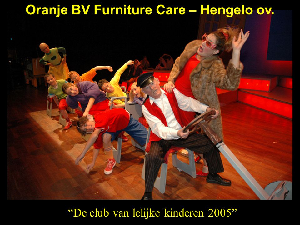 Oranje BV Furniture Care – Hengelo ov.