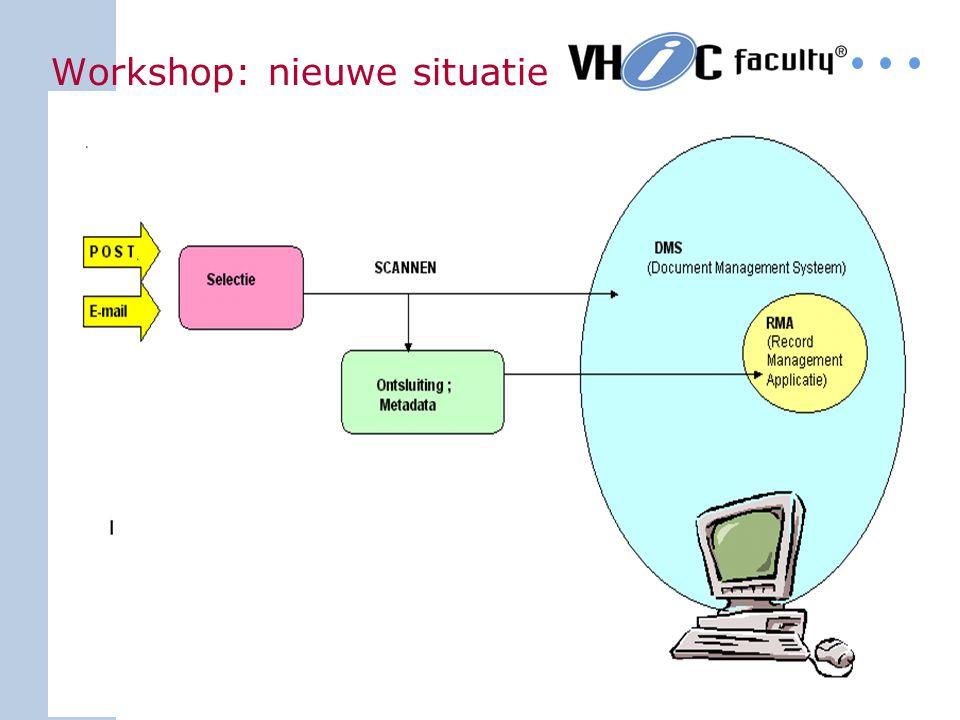 Workshop: nieuwe situatie