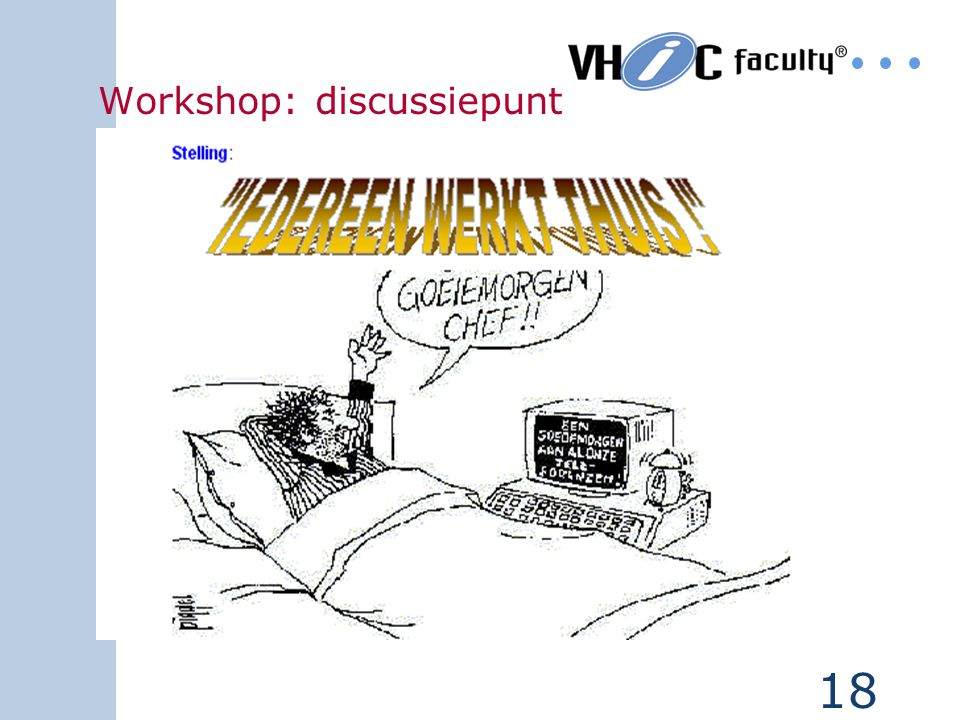 Workshop: discussiepunt
