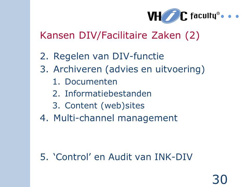 Kansen DIV/Facilitaire Zaken (2)
