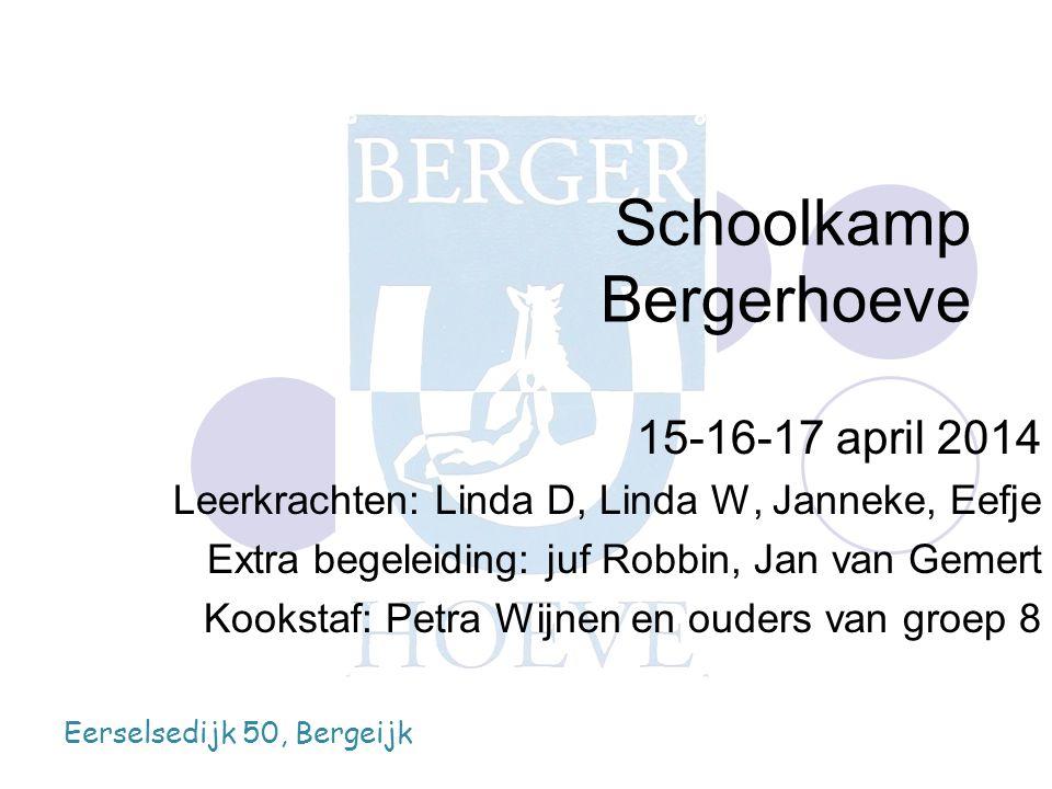 Schoolkamp Bergerhoeve