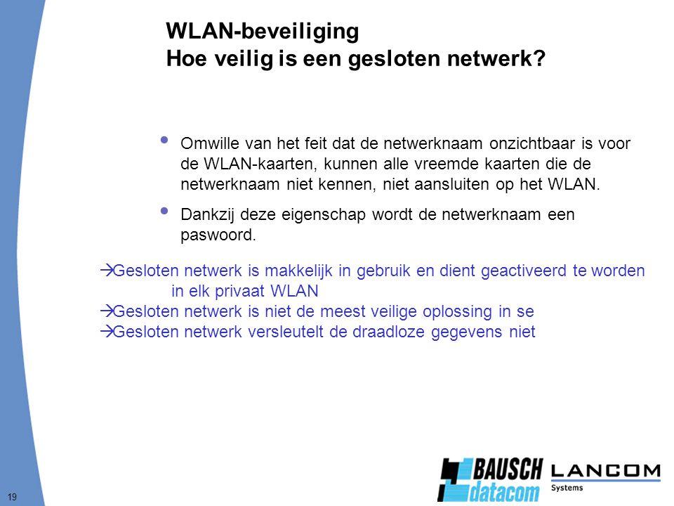 WLAN-beveiliging Hoe veilig is een gesloten netwerk