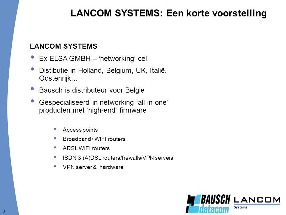LANCOM SYSTEMS: Een korte voorstelling