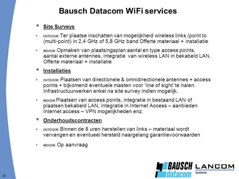 Bausch Datacom WiFi services