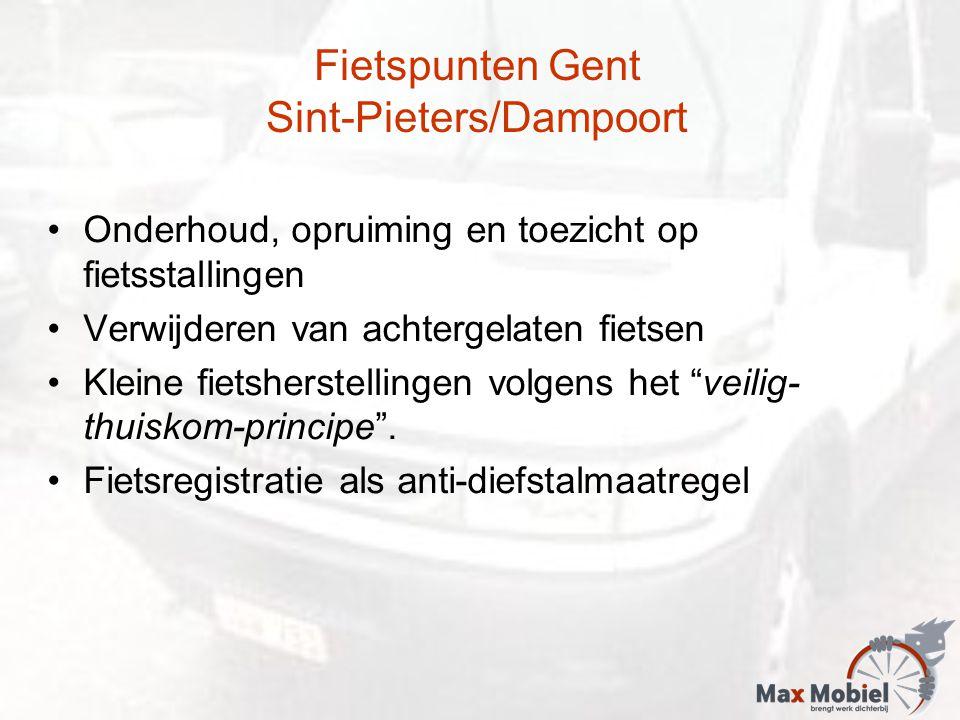 Fietspunten Gent Sint-Pieters/Dampoort