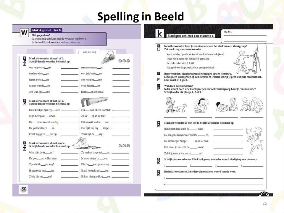 Spelling in Beeld