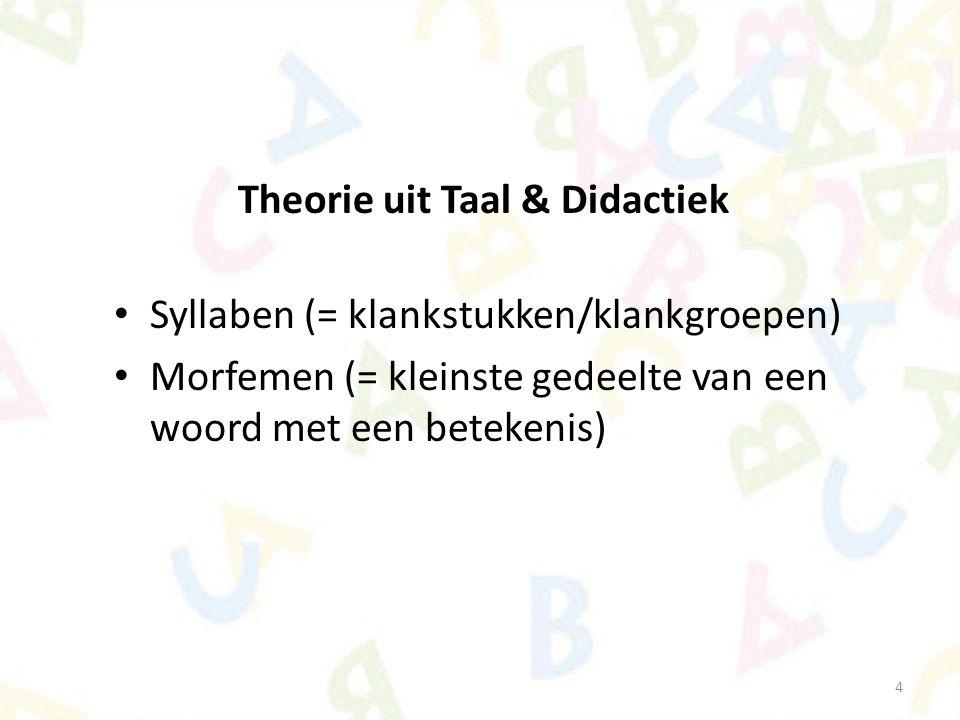 Theorie uit Taal & Didactiek