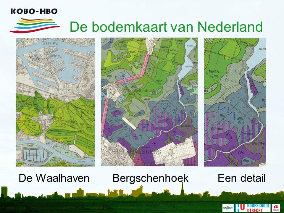 De bodemkaart van Nederland