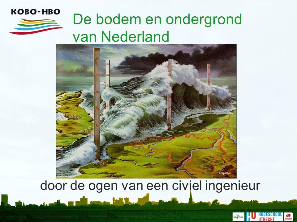 De bodem en ondergrond van Nederland