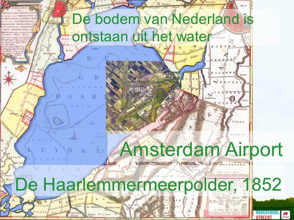 De bodem van Nederland is ontstaan uit het water