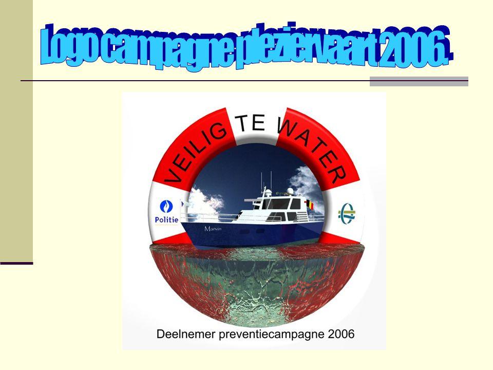 Logo campagne pleziervaart 2006.
