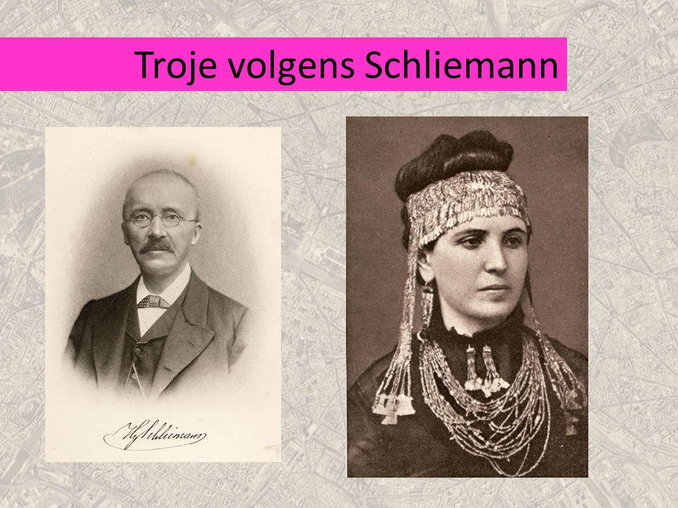 Troje volgens Schliemann