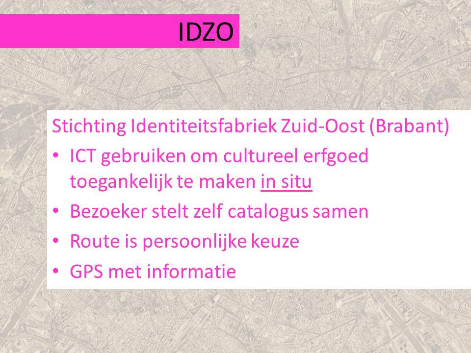 IDZO Stichting Identiteitsfabriek Zuid-Oost (Brabant)