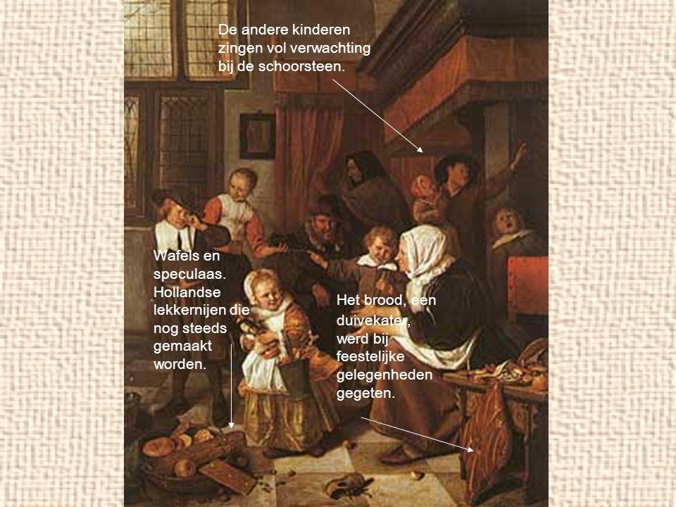Het brood, een duivekater, werd bij feestelijke gelegenheden gegeten.