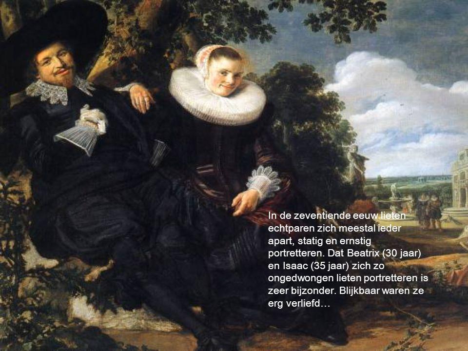 In de zeventiende eeuw lieten echtparen zich meestal ieder apart, statig en ernstig portretteren.