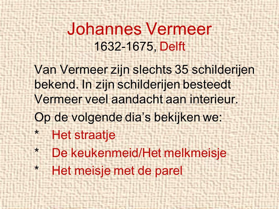 Johannes Vermeer 1632-1675, Delft