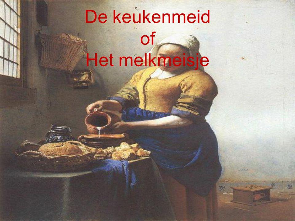 De keukenmeid of Het melkmeisje
