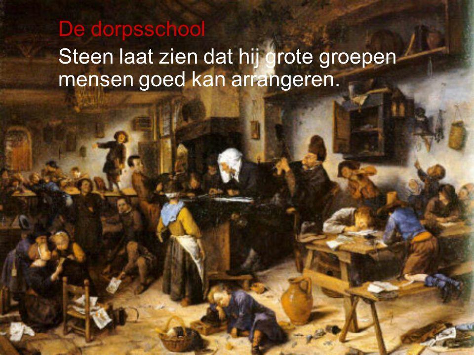 De dorpsschool Steen laat zien dat hij grote groepen mensen goed kan arrangeren.