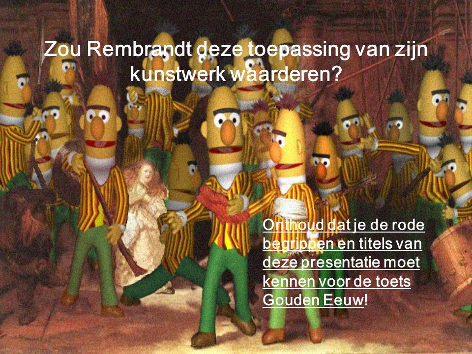Zou Rembrandt deze toepassing van zijn kunstwerk waarderen