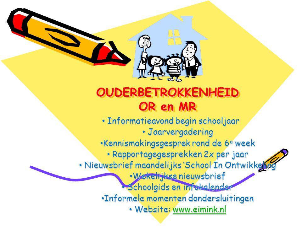 OUDERBETROKKENHEID OR en MR
