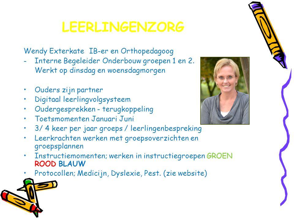 LEERLINGENZORG Wendy Exterkate IB-er en Orthopedagoog