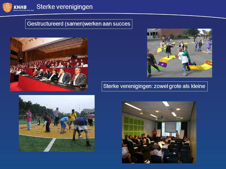 Sterke verenigingen Gestructureerd (samen)werken aan succes