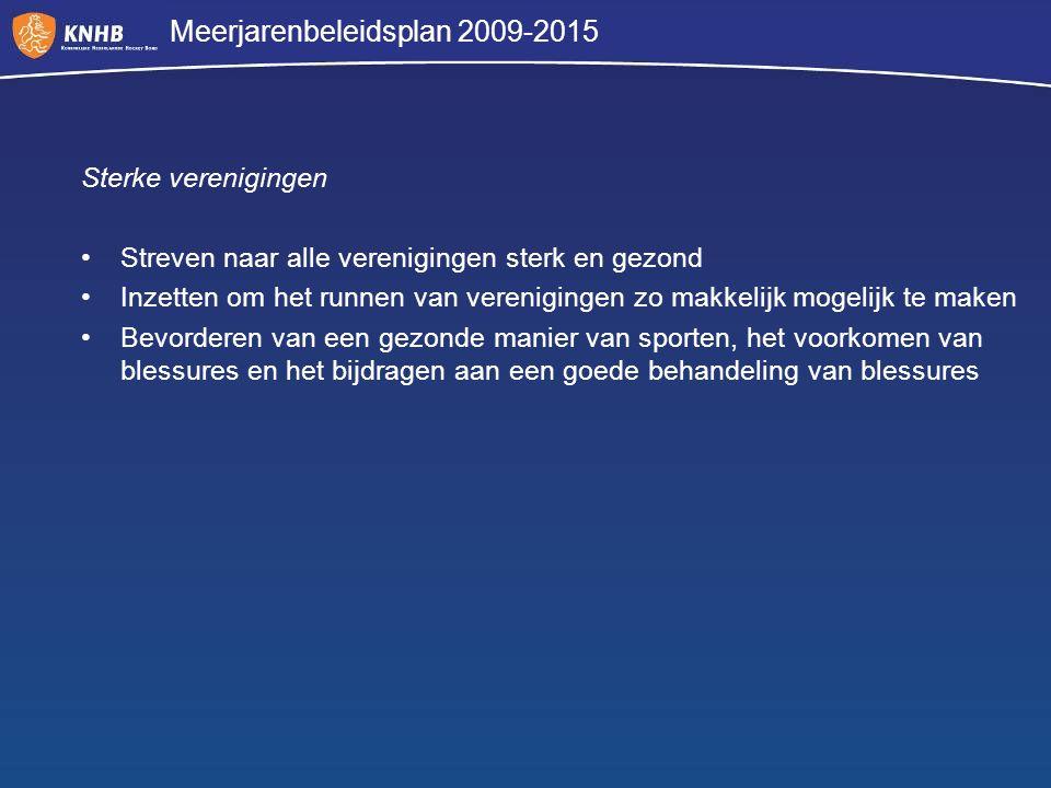 Meerjarenbeleidsplan 2009-2015