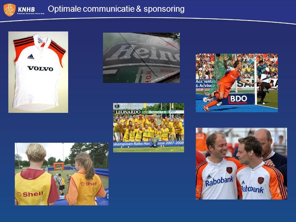 Optimale communicatie & sponsoring