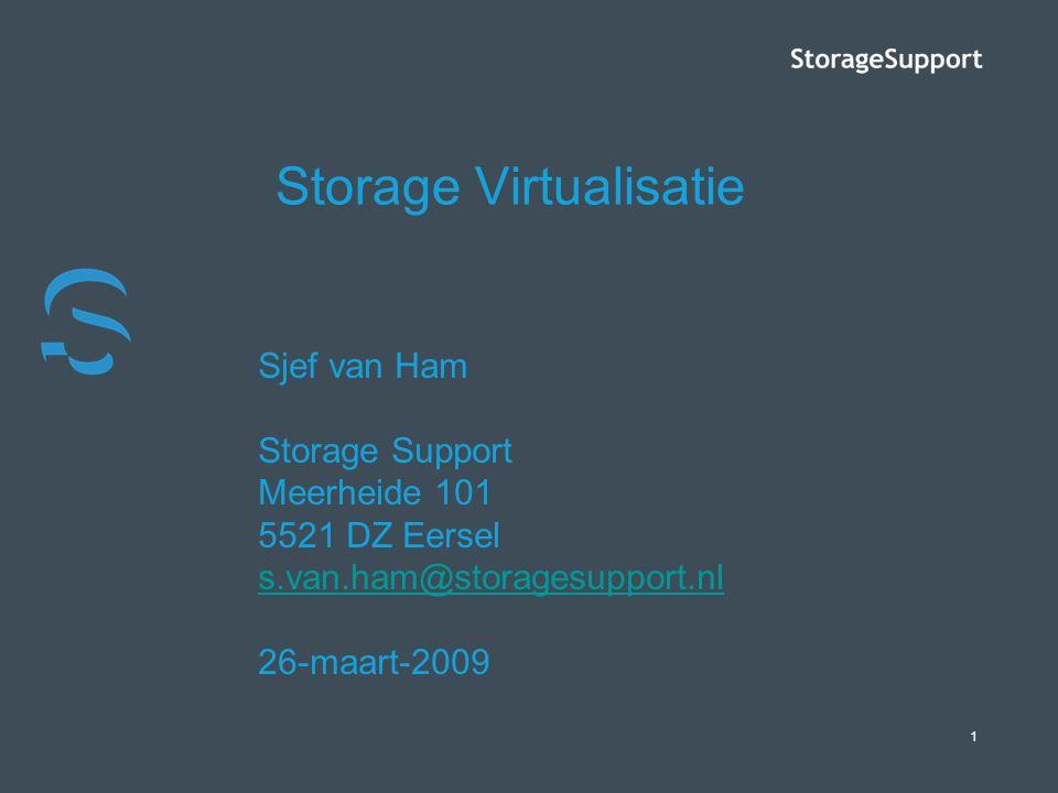 Storage Virtualisatie