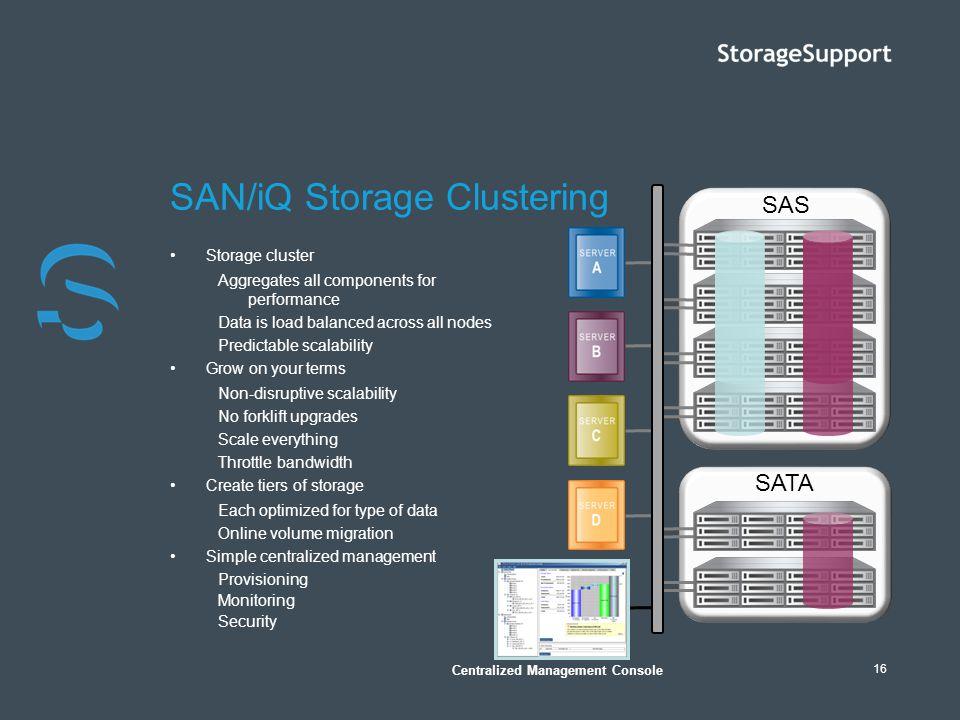 SAN/iQ Storage Clustering