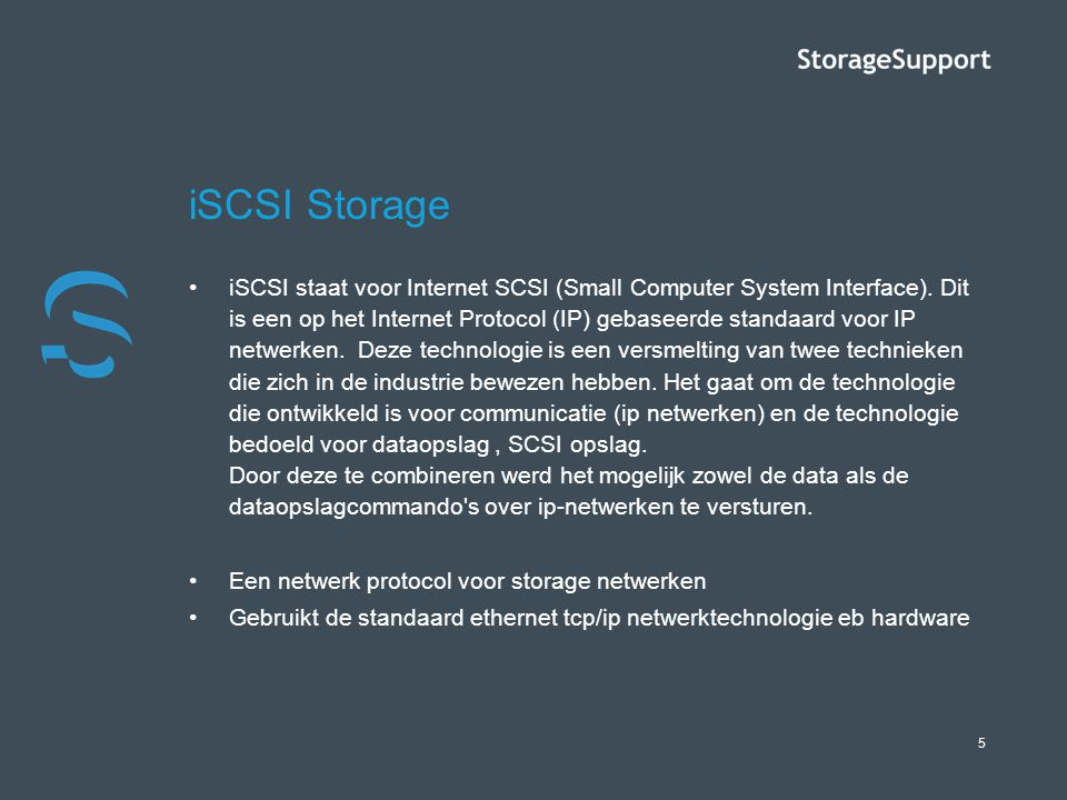iSCSI Storage