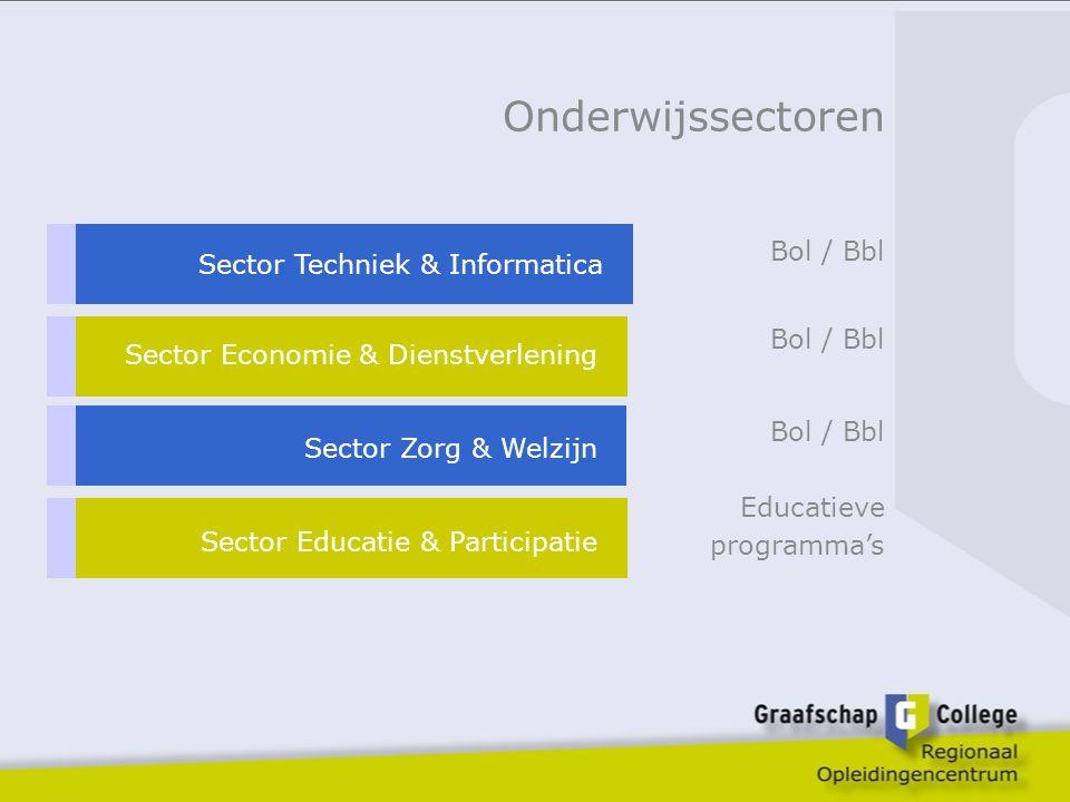 Onderwijssectoren Bol / Bbl Sector Techniek & Informatica Bol / Bbl