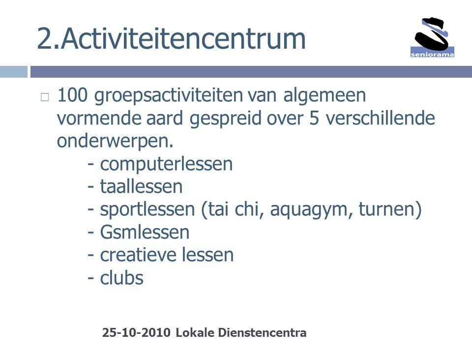 2.Activiteitencentrum
