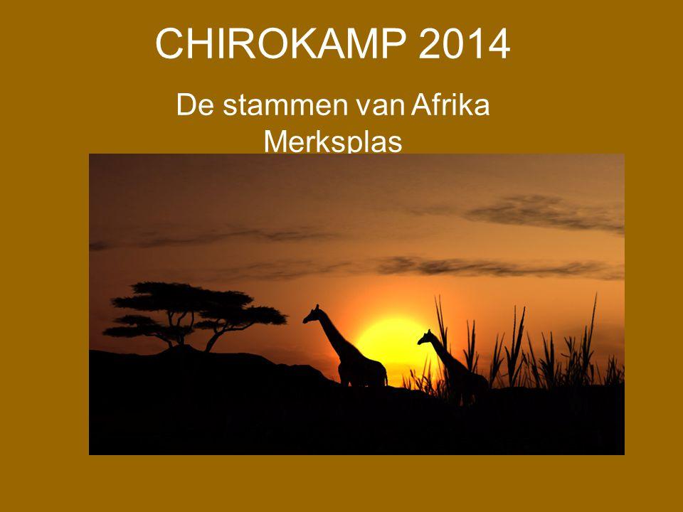 De stammen van Afrika Merksplas
