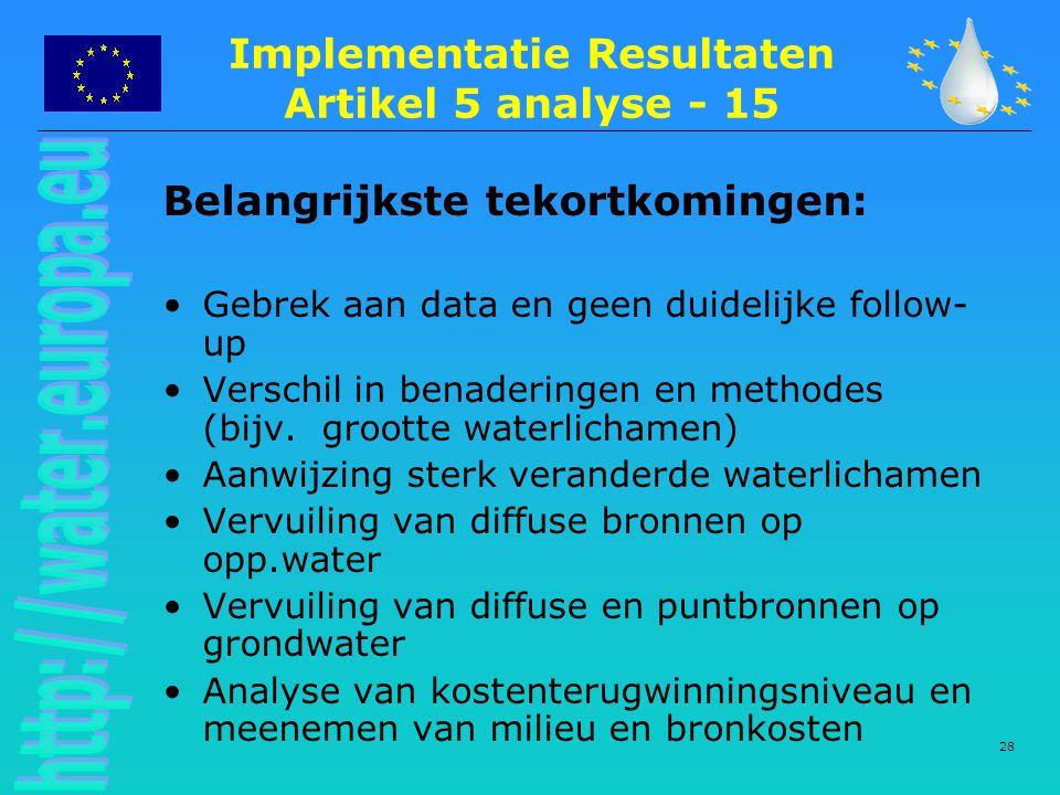 Implementatie Resultaten Artikel 5 analyse - 15