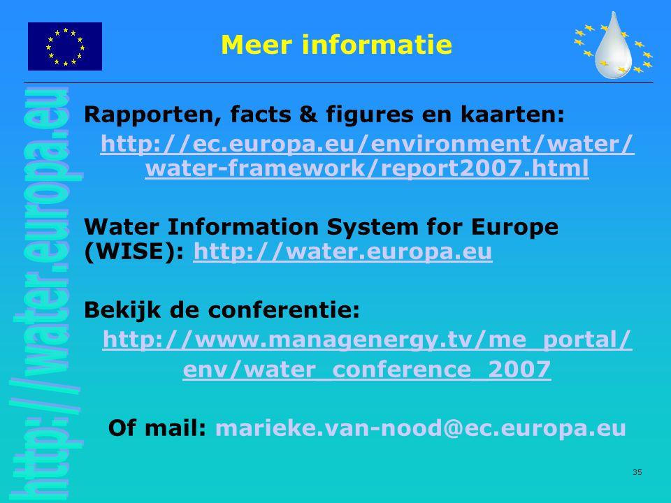 Meer informatie Rapporten, facts & figures en kaarten: