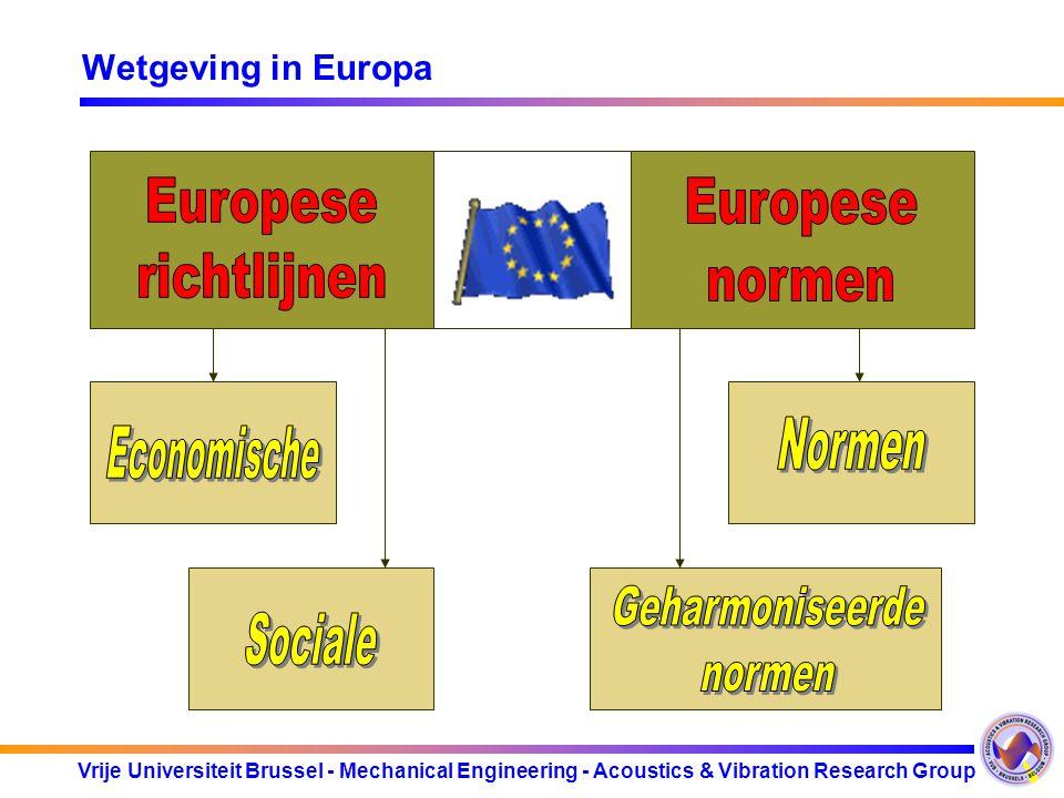 Europese richtlijnen Europese normen Normen Economische