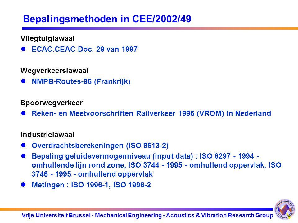 Bepalingsmethoden in CEE/2002/49