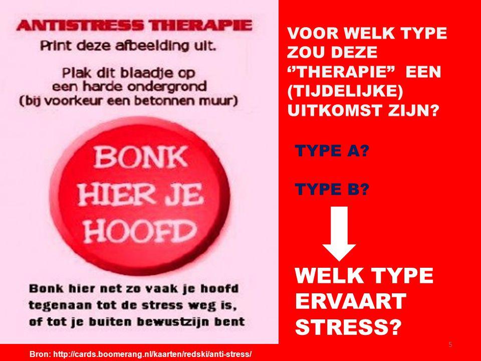 WELK TYPE ERVAART STRESS