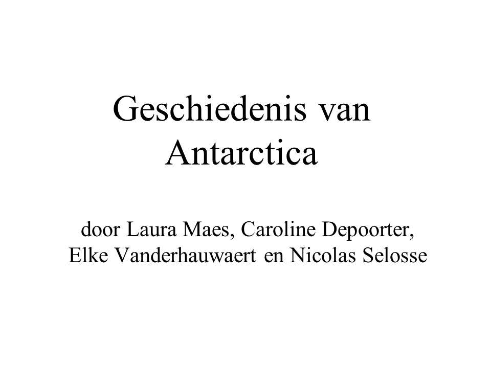 Geschiedenis van Antarctica
