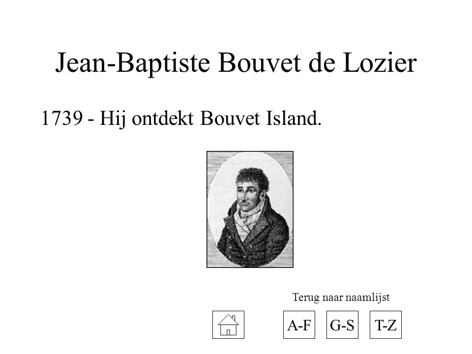 Jean-Baptiste Bouvet de Lozier