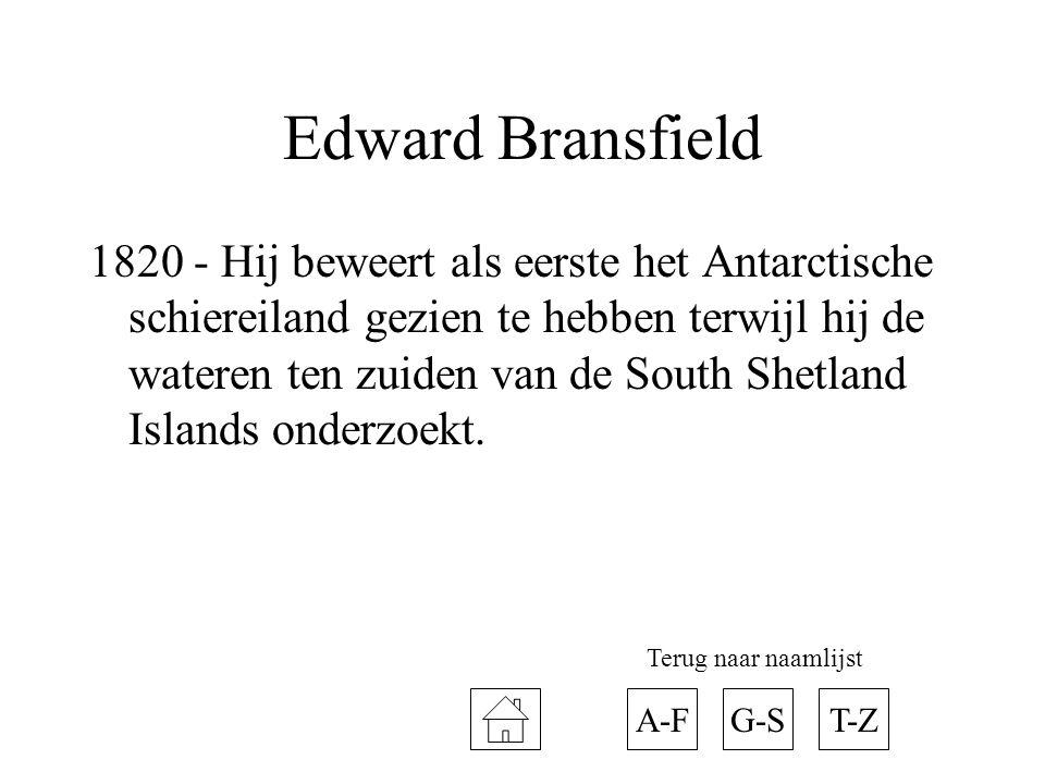 Edward Bransfield