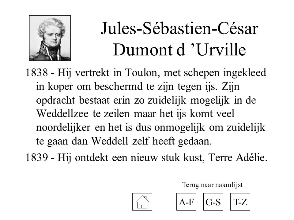 Jules-Sébastien-César Dumont d 'Urville
