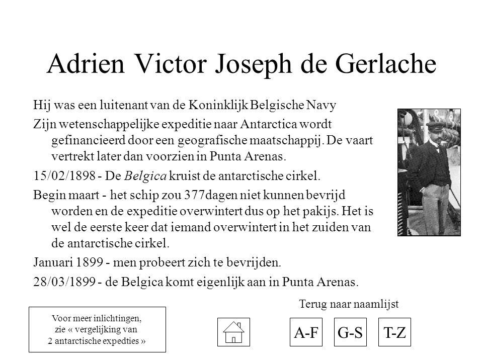 Adrien Victor Joseph de Gerlache