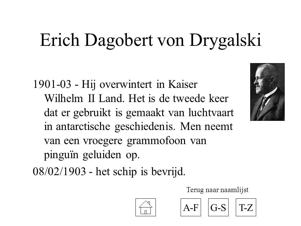 Erich Dagobert von Drygalski