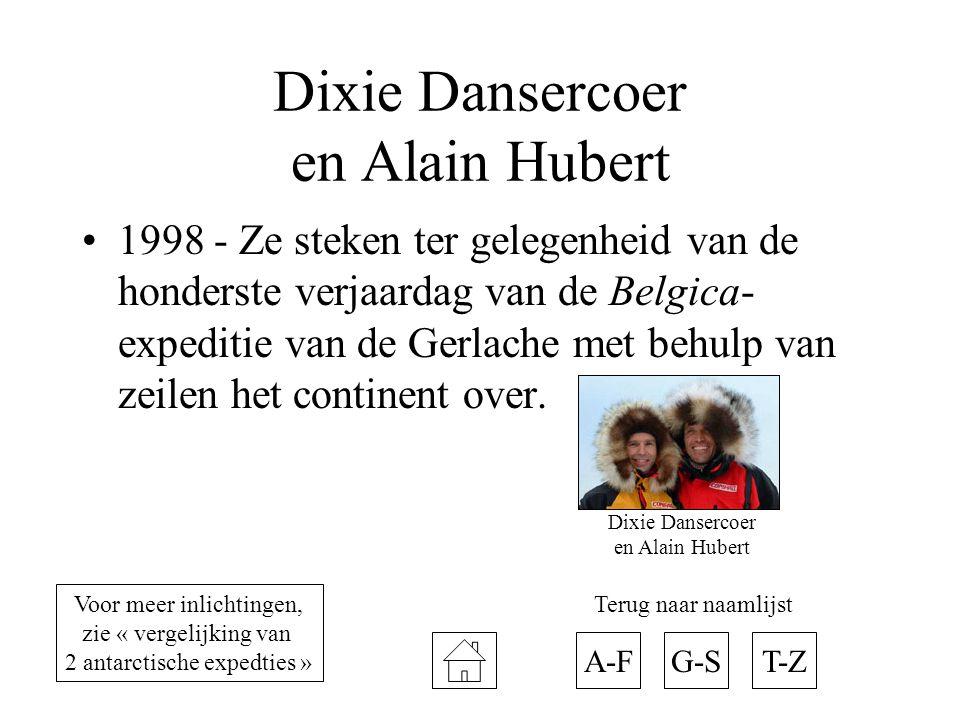 Dixie Dansercoer en Alain Hubert
