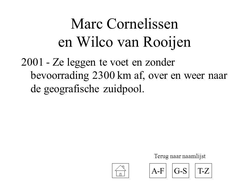 Marc Cornelissen en Wilco van Rooijen