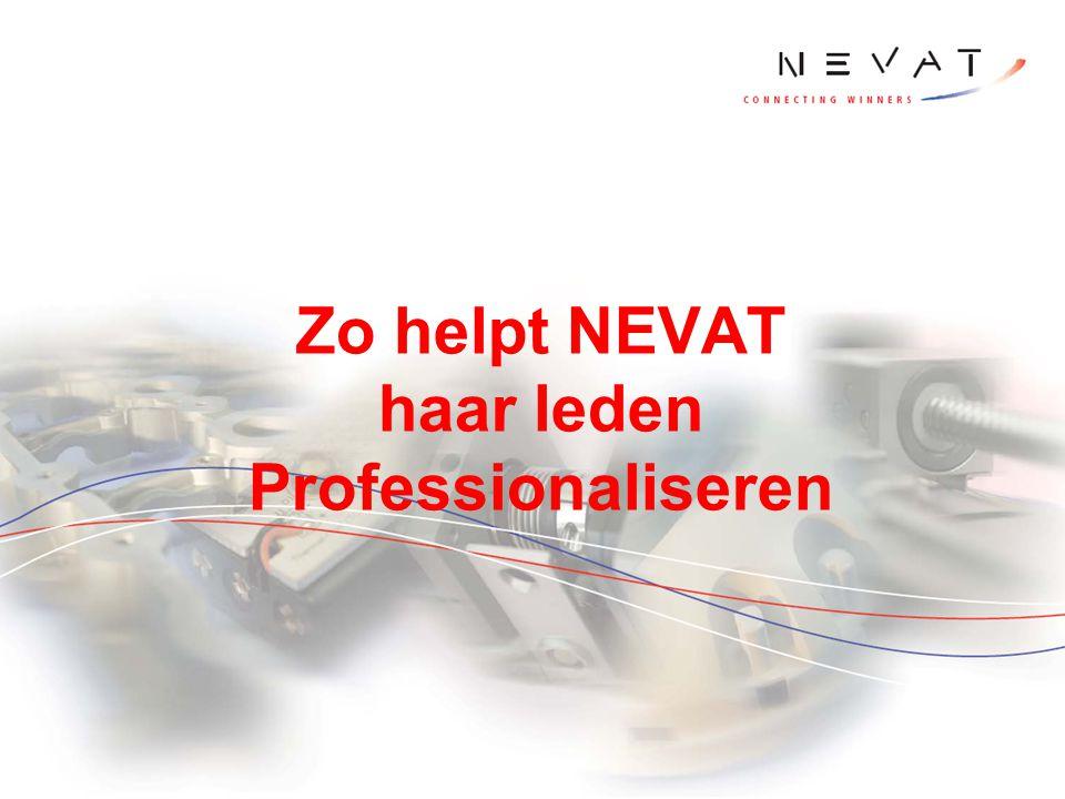 Zo helpt NEVAT haar leden Professionaliseren